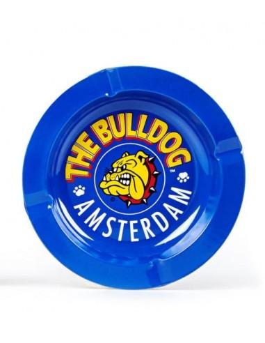 The Bulldog Cenicero Metálico Azul