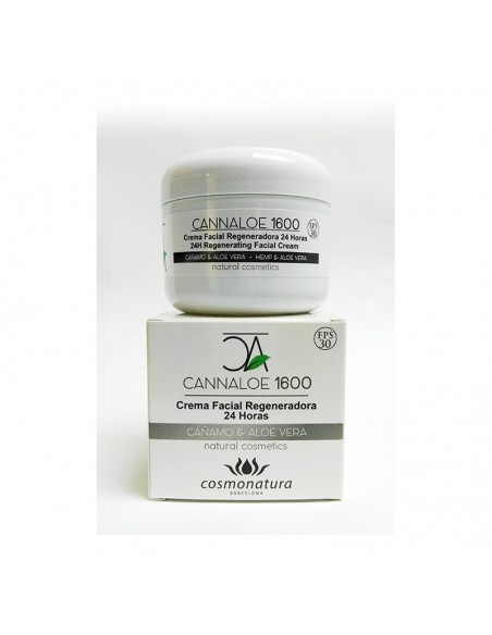 Crema Cannábica CANNALOE 1600 – CREMA FACIAL REGENERADORA 24 HORAS