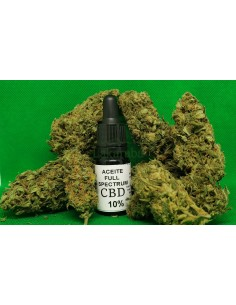 Aceite Full Spectrum CBD 10%